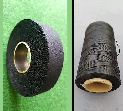 1 Roll Of Vintage Hickory Golf Club Whipping Thread & 1 Roll Of Underlisting