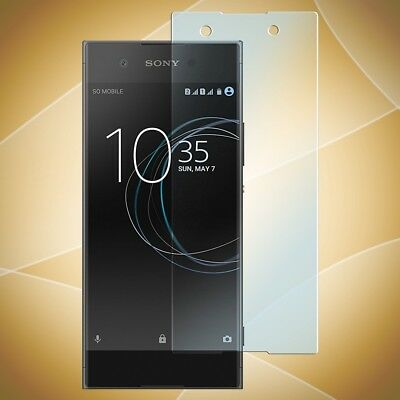 Panzer Glasfolie Folie SONY XPERIA XA1 Schutz Folie Screen Glass Hart Glas KLAR