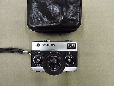 Rollei 35 GERMANY con Carl Zeiss Tessar 3,5-40 fotocamera compatta vintage