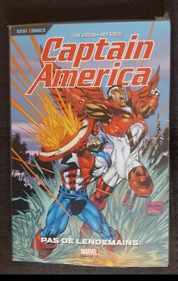 LOT - Marvel Best Comics - Captain America Le retour & Pas de lendemains