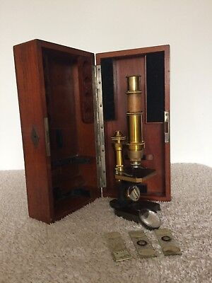 Antique Microscope, Carl Zeiss Jena c.1885