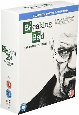 Breaking Bad: The Complete Series (Box Set with Digital Download) [Blu-ray]