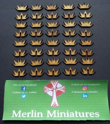 Wargame Counters - Blast Markers - Mdf 2mm Thick - 20 PK
