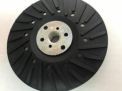 """1 Keen #54199,4"""" x 5/8""""-11 Firm Cooling ribs Backup Pad for fibre sanding disc"""