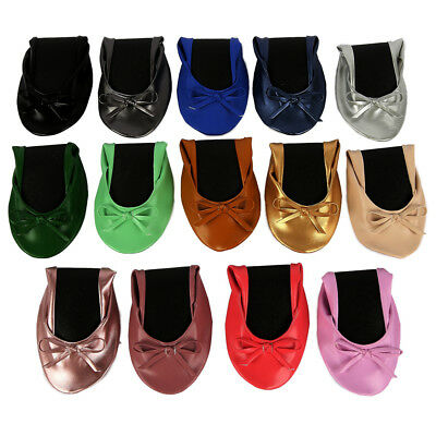Hot After Party Women Ballets Flats Dance Shoes Wedding Portable Travel Fold up