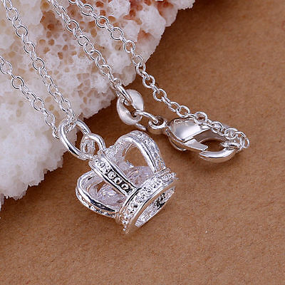 925Silver Jewelry Pendant Chain Lady Necklace Jewellery Gift