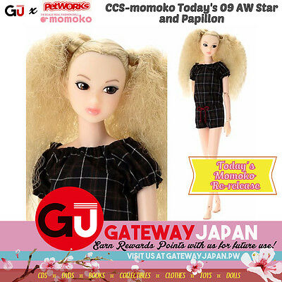 CCS-momoko Today's 09 AW Star and Papillon NEW! Doll BJD girls toy Barbie Blythe