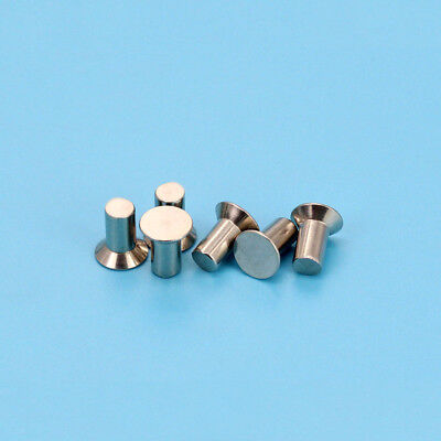 50pcs M3 stainless steel countersunk rivets flat head solid percussion rivet
