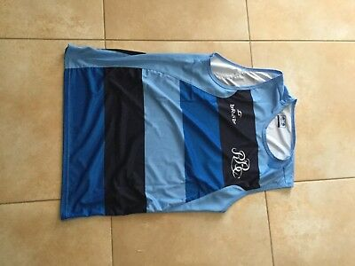 Maillot rugby chasuble porte barbarians rugby worn jersey