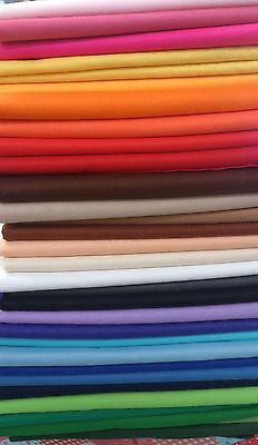"""9"""" Craft Felt Fabric Material - Sold in Squares Pack - Assorted Colours"""