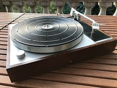 thorens td-150 from 1965 / rare & very nice turntable / serviced / TP 13 arm