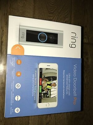 Ring Video Doorbell Pro with Transformer, Kit and Chime