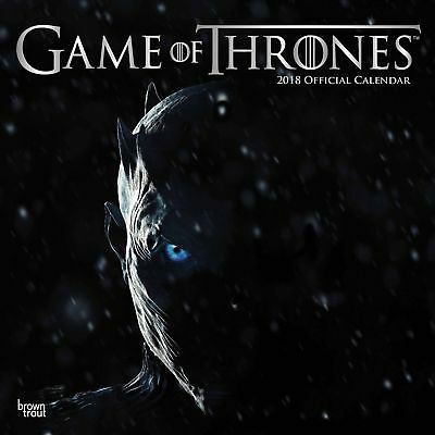 Game Of Thrones Official Calendar 2018
