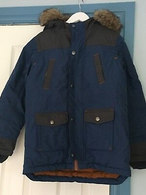 Boys Lands End Down Winter Coat age 6-7 (large Fit)