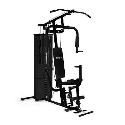 Klarfit 3000 Ultimate Fitness Station Adjustable Weight Black *free P&p*