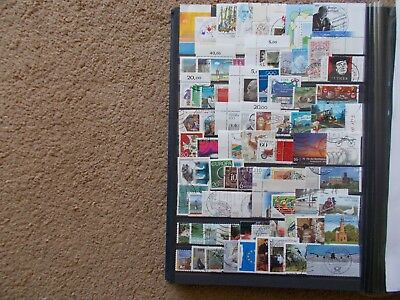 German Stamps Used Off Paper Lot 8