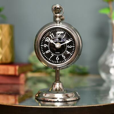 Downing Street Mantel Clock with Telescopic Stand