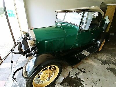 1929 Ford Model A  1929 Ford Model A Roadster Convertible