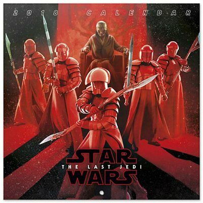 Star Wars The Last Jedi (Free Poster ) Official Calendar 2018