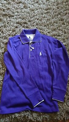 ralph lauren polo top boys age 8 126