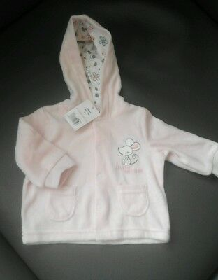 Baby girls new born little pink jacket/top new with tags