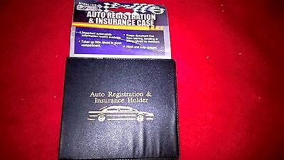 Sterling Auto Registration and Insurance Case, Black (CP040)