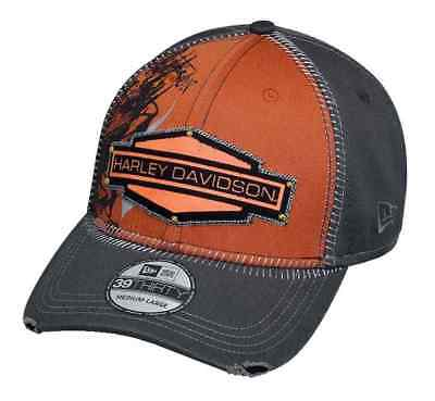"Harley-Davidson Basecap ""NEW ERA 39THIRTY"" Cap Truckermütze *97605-17VM/000L*"