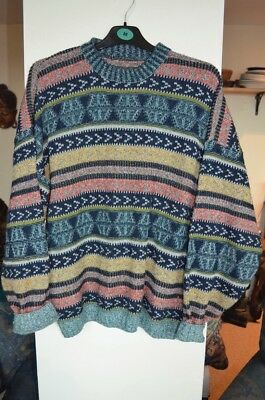 Vintage knitted pattern jumper