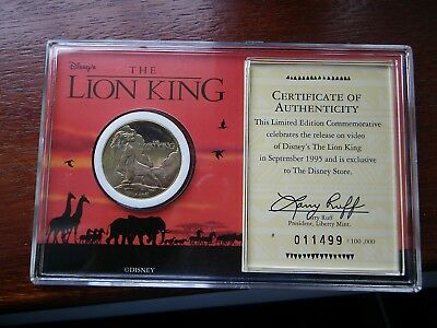 The Lion King Commemorative Coin