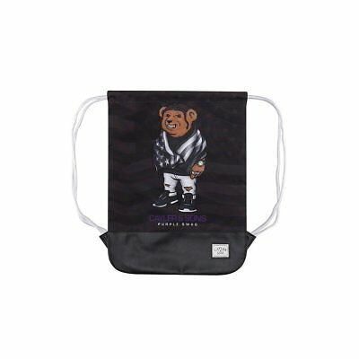 WL-AW17-GB-01, Saco sport (Gymsack) Cayler & Sons – C&S Wl Purple Swag negro/mor