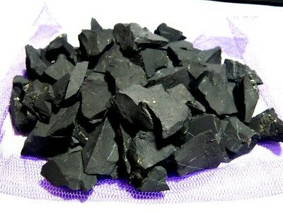 Raw Shungite stones Water Cleaner water purification 0,44lbs(200g) from KARELIA