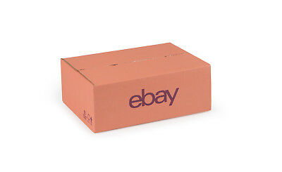 "eBay Branded Packaging Small Cardboard Box (10.62"" x 7.87"" x 3.74"") Pink/Purple"