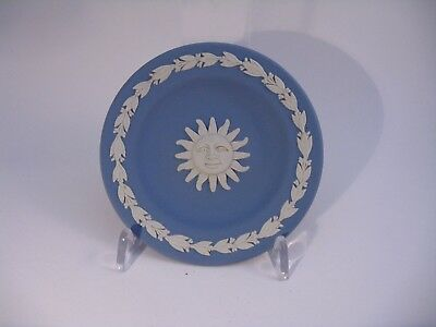 Wedgwood Blue Jasperware Pin Dish - Boxed