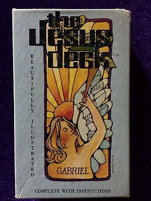 Rare Vintage 1972 The Jesus Deck Inspirational Solitaire Tarot Card Switzerland