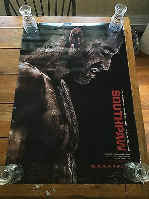 Southpaw DS Theatrical Movie Poster. 27x40.