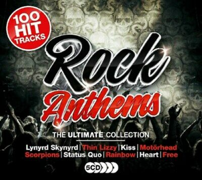 Rock Anthems: The Ultimate Collection - Various Artists (Box Set) [CD]