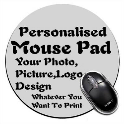 Personalised Round Custom Made Customized Logo Picture Mouse Pad mouse mat C23