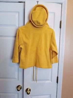 Children's Place yellow unisex size 10  pull over sweater with matching hat