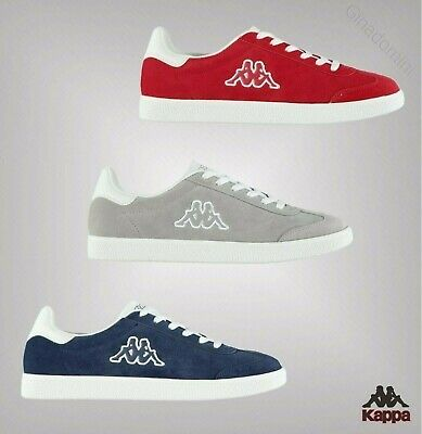 Mens Branded Kappa Traditional Style Lace-Up Valle Shoes Trainers Size 7-12