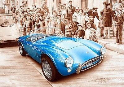 Lithographie Lithography Affiche Poster Francois Bruere Ac Cobra