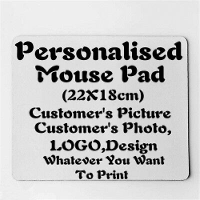 Personalised Rectangle Custom Made Customized Picture Mouse Pad mouse mat F55