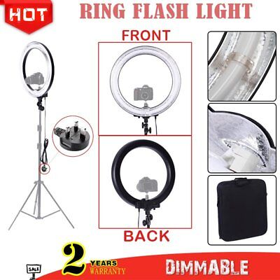 Neewer Pro 18'' Camera Photo Ring Fluorescent Flash Light 600W 5500K Dimmable