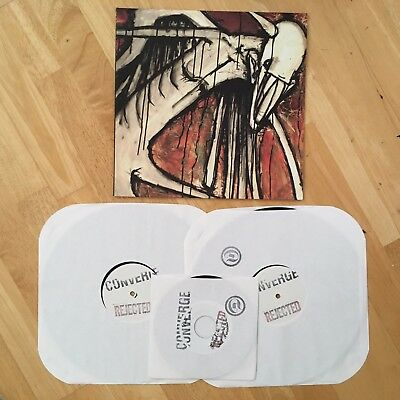 "Converge - Petitioning Forever 2x12"" + 7"" 'Rejected' Test Press /15 J Bannon"