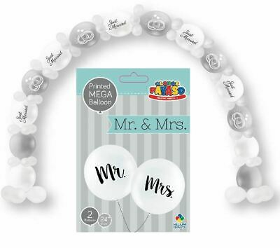 Inflatable Wedding Just Married Arch Balloon Or Mr Mrs Jumbo Balloon Party Decor