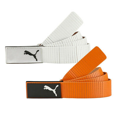 New PUMA Golf Extension Belt BRUSHED METAL PLATE BUCKLE - Pick Color & Size
