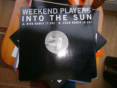 Weekend Players - Into The Sun - Multiply - 2002 -12inch-3
