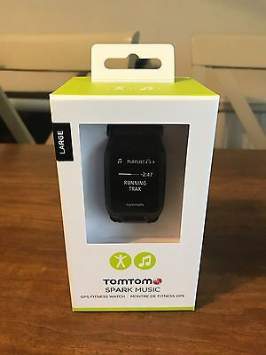 Brand new Tomtom Spark Music GPS Fitness Watch Bluetooth 3GB Memory