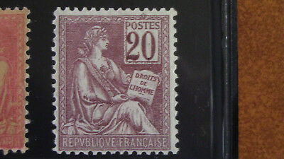 France 1900 Timbre N°113** Neuf Gomme d'origine