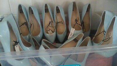 JOBLOT 9 x PAIRS NEW! LADIES SHOES BNWT. ALL UK SIZE 7 EUR 40 DEBENHAMS RRP.£18.