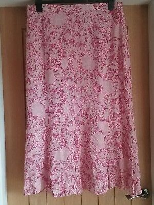 Gray and Osbourn floral print summer skirt Size 20 New no tags. Elasticated